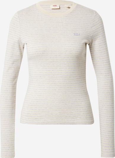 Marškinėliai iš LEVI'S , spalva - smėlio / margai pilka, Prekių apžvalga