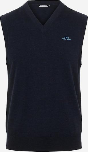 J.Lindeberg Pullover in navy / hellblau, Produktansicht