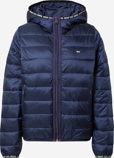 Tommy Jeans Übergangsjacke in nachtblau / rot / schwarz / weiß, Produktansicht