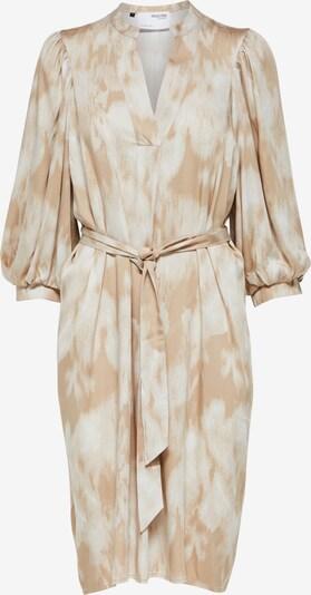 SELECTED FEMME Robe 'Josepha' en beige / noisette, Vue avec produit