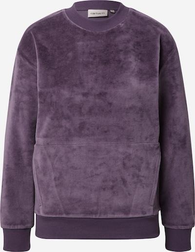 Carhartt WIP Sweatshirt 'Silverton' in de kleur Pruim, Productweergave