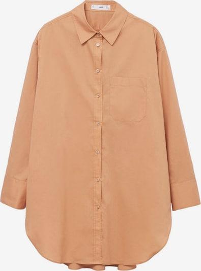 MANGO Bluse in orangerot, Produktansicht
