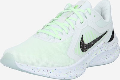 NIKE Running shoe 'Downshifter 10 SE' in lime / black / white, Item view