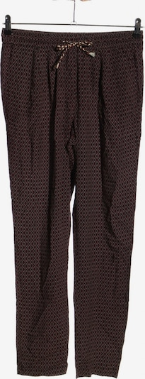 Camaïeu Stretchhose in L in rot / schwarz, Produktansicht