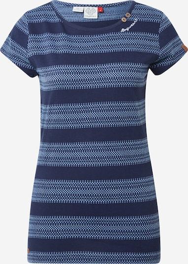Tricou 'METE' Ragwear pe bleumarin / albastru deschis / alb, Vizualizare produs