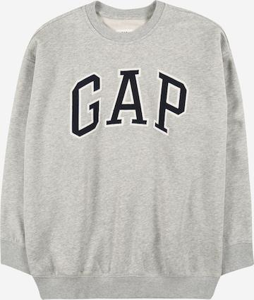 GAP Sweatshirt 'Arch' in Grey