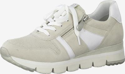 Sneaker low MARCO TOZZI pe bej / alb murdar, Vizualizare produs