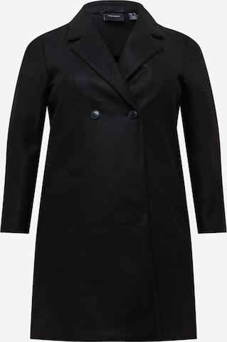 Vero Moda Curve Płaszcz przejściowy w kolorze czarny
