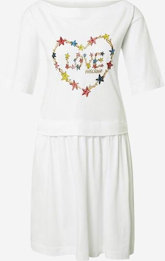 Love Moschino Robe en mélange de couleurs / blanc, Vue avec produit
