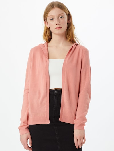 ONLY Strickjacke 'Amalia' in rosa, Modelansicht