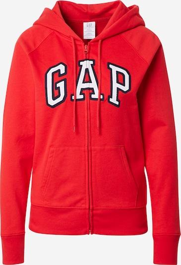 GAP Zip-Up Hoodie in Navy / Red / White, Item view