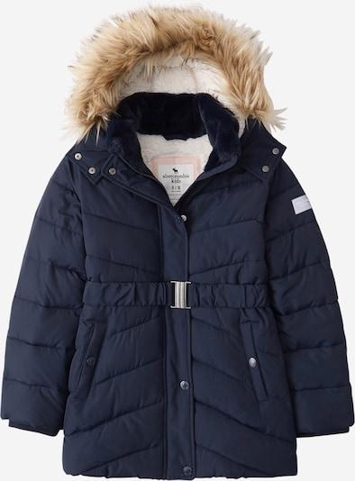 Abercrombie & Fitch Veste d'hiver 'ADVENTURE' en bleu marine, Vue avec produit