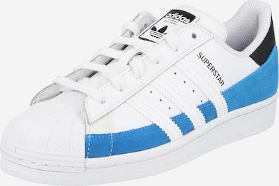 ADIDAS ORIGINALS Sneaker 'SUPERSTAR' in himmelblau / schwarz / weiß, Produktansicht