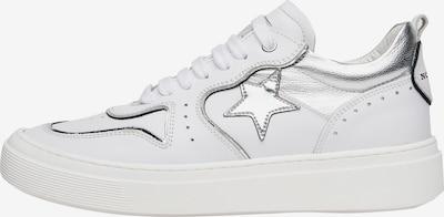 NOCLAIM Sneakers laag 'ALEX 1P' in de kleur Zilver / Wit, Productweergave