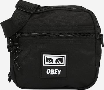 Obey Olkalaukku värissä musta