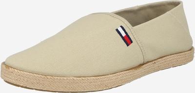 Espadrile Tommy Jeans pe bej deschis / bleumarin / roșu deschis / alb, Vizualizare produs