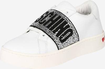 Love Moschino Låg sneaker i svart / vit, Produktvy