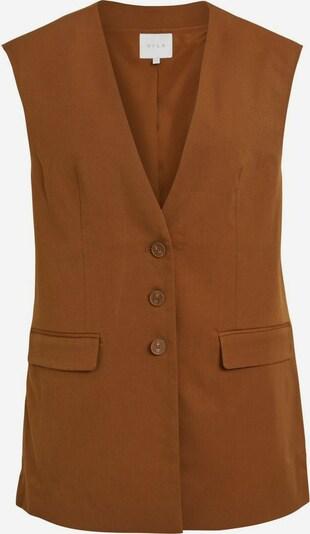 VILA Gilet en marron, Vue avec produit