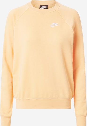 Nike Sportswear Sweat-shirt en orange pastel, Vue avec produit