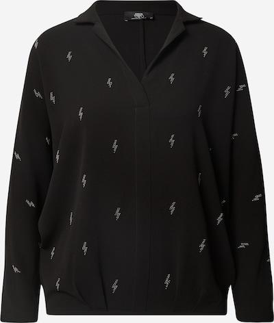 Le Temps Des Cerises Blusenshirt in schwarz, Produktansicht