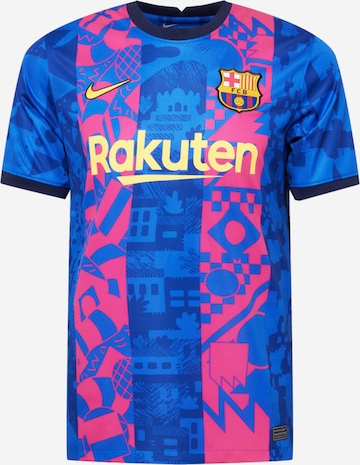 NIKE Dres 'FC Barcelona 21-22 3rd' - Modrá