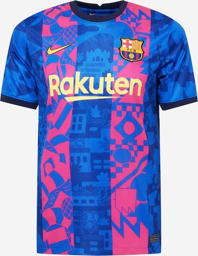 NIKE Trikot 'FC Barcelona 21-22 3rd' in kobaltblau / gelb / pink / schwarz, Produktansicht