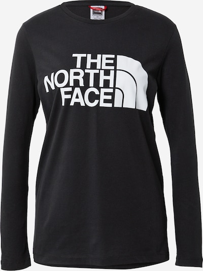 THE NORTH FACE Functional shirt in black / white, Item view