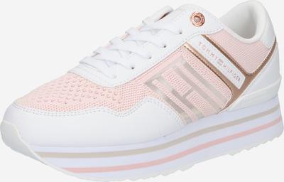 Sneaker low TOMMY HILFIGER pe auriu / roz deschis / alb, Vizualizare produs