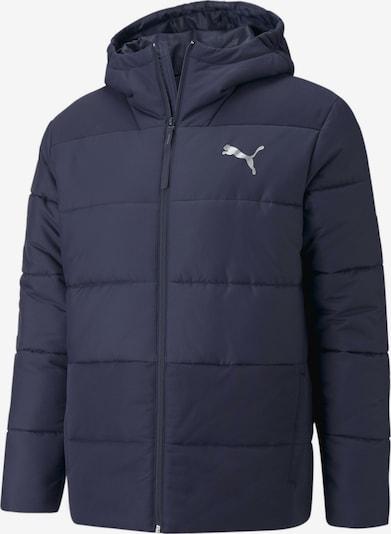 PUMA Tussenjas in de kleur Donkerblauw, Productweergave