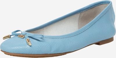 Dune LONDON Ballerina 'HARPAR' i ljusblå, Produktvy