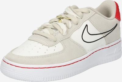 Nike Sportswear Baskets 'Air Force' en pierre / noir / blanc, Vue avec produit