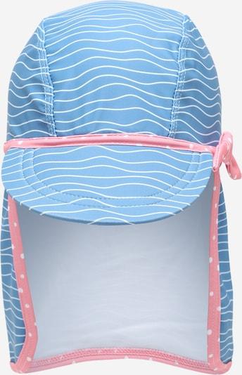 PLAYSHOES Mütze 'Krebs' in hellblau / pink / weiß, Produktansicht