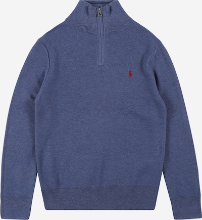 Polo Ralph Lauren Sveter - modrosivá / červená, Produkt