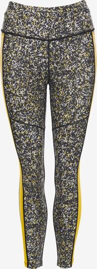 Superdry Pantalon de sport en jaune / noir / blanc, Vue avec produit