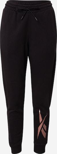 REEBOK Pantalon de sport 'Essentials Gold' en rosé / noir, Vue avec produit