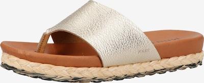 MAHONY Sandale in gold, Produktansicht