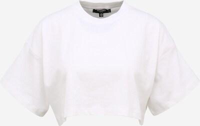 Missguided (Petite) T-shirt en blanc, Vue avec produit