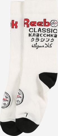 Reebok Classics Socks 'Roadtrip' in White