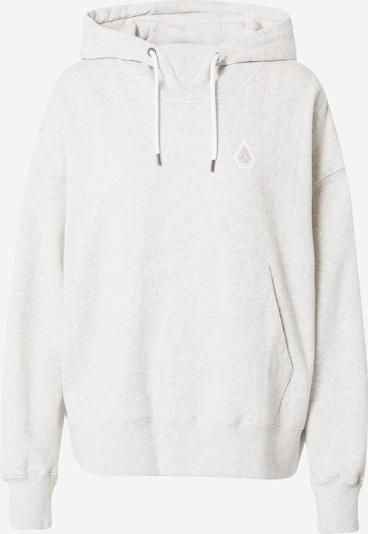 Volcom Athletic Sweatshirt in mottled grey / Pink / White, Item view