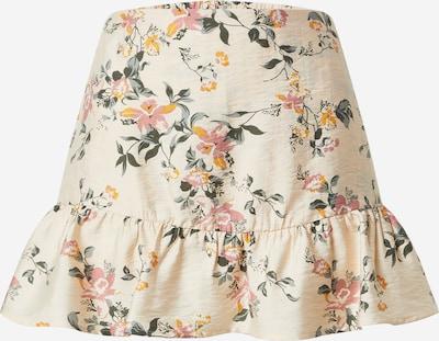 ABOUT YOU Sukňa 'Louisa' - krémová / zmiešané farby: Pohľad spredu