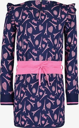 4PRESIDENT Kleid in dunkelblau / pink, Produktansicht