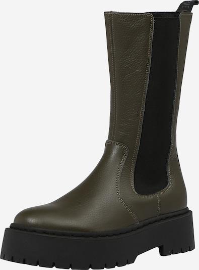 STEVE MADDEN Stiefel 'VIVIANNE' in khaki / schwarz, Produktansicht
