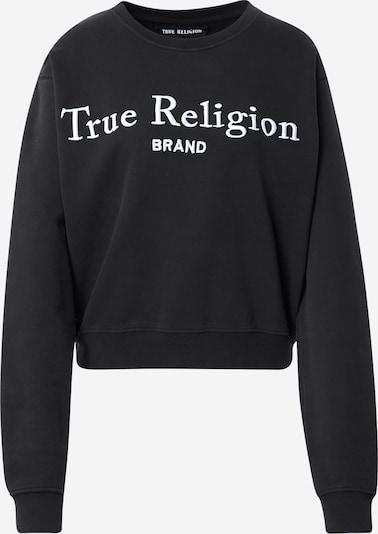 True Religion Sweat-shirt en noir / blanc, Vue avec produit
