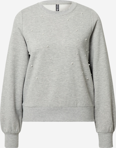 PIECES Sweatshirt in grau, Produktansicht