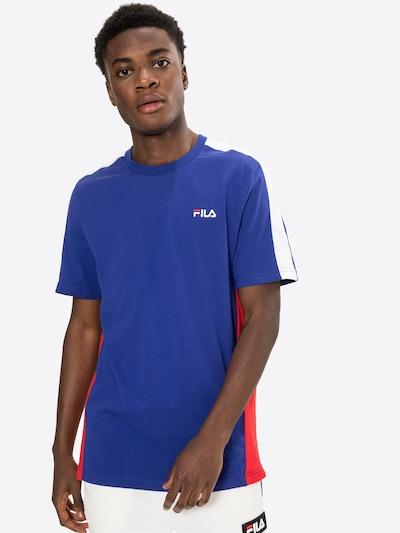 FILA Shirt 'Altan' in Blue / Light red / White, View model