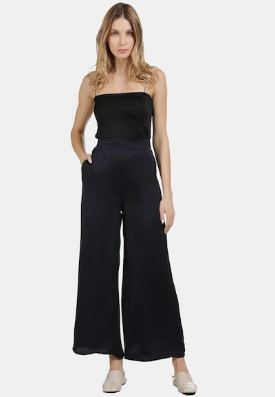 DreiMaster Vintage Culotte Hose in schwarz, Modelansicht