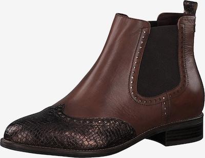 TAMARIS Chelsea boty - hnědá / tmavě hnědá, Produkt