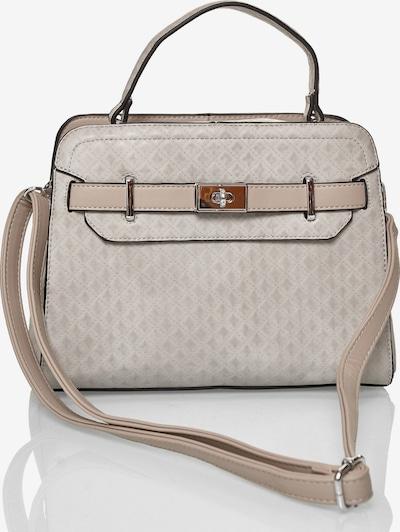 Emma & Kelly Handtasche mit handgefertigten Details in grau, Produktansicht