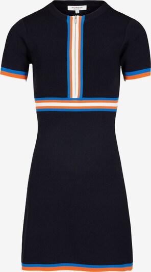 Morgan Kleid 'MAYA' in marine / royalblau / orange / weiß, Produktansicht