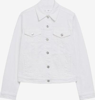 MANGO Übergangsjacke 'vicky' in weiß, Produktansicht
